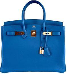 Hermes Birkin Bag in Cobalt Blue