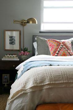 Linen sheets & mattr