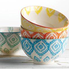 Impressions Bowls Set of 4