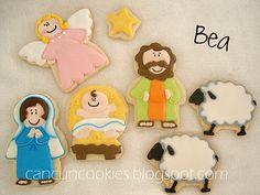 Baby Jesus Nativity Cookies