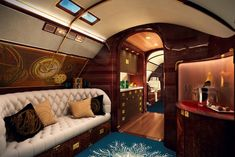 The World's Most Luxurious Private Jet Is a Yacht for the Sky...*