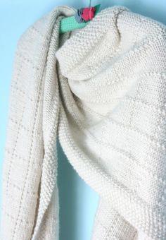 (6) Name: 'Knitting : Simple Shawl Pattern