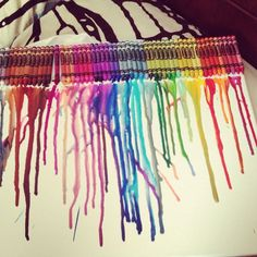 How to Make Melted Crayon Art: 12 Steps - wikiHow