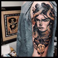 Guest Spot: @jacobjgardner @jacobjgardner @jacobjgardner #tattoo #tattoomagazine #tattoocollectors #neotraditional #newtraditional #thenewtraditionalists