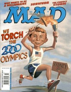 Cover for MAD (EC 1952 serie) #398 - OCTOBER 2000
