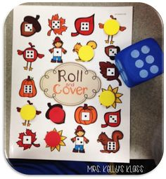 My kids LOVED these differentiated Fall themed Roll and Cover games! 3 versions - Dice Images, Numbers for 1 dice, and Numbers for 2 dice!