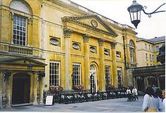 """Grand Pump Room in Bath.  """"Captain Wentworth.. is the program to you liking?"""""""