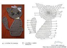 Ideas para el hogar: Varios diseños de apliques en ganchillo