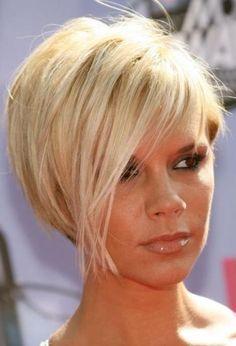 """Résultat de recherche d'images pour """"coupe courte blonde victoria beckham"""""""