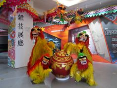 This display on Chinese dragon dancing was at the Yunnan Museum of Literature and Art just south of Kunming, Yunnan, China. Kunming, Chinese Dragon, Literature, Museum, China, Display, Stone, Art, Literatura