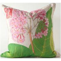Pink Hydrangea Pillow
