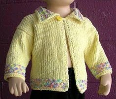 Pictures of Baby Sweater with Collar Knitting Pattern