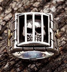 Prisoner Skull Rings #Skullrings