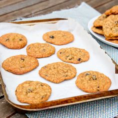 Oatmeal Raisin Cookies - crispy, chewy, yummy