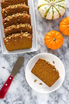 Healthier Pumpkin Bread