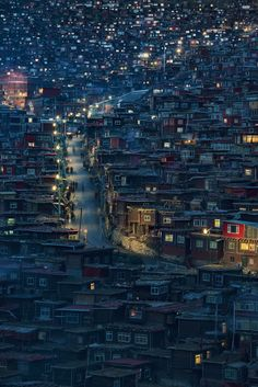 Larung Gar - My Instagram   My Facebook Larung Gar is a town in Sertar County of Garze Tibetan Autonomous Prefecture, in the traditional Tibetan region of Kham , China. The population of over 10,000 comprises primarily monks and nuns making it possibly the largest religious institute in the world