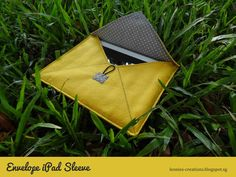 Leonie's Creations: Envelope iPad Sleeve