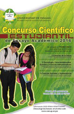 """Vicerrectoria de Asuntos Estudiantiles (VAE): """"CIERRE DE CONCURSO CIENTÍFICO ESTUDIANTIL DE ENSA..."""