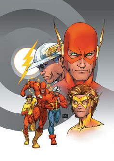 A casualty of the updated timeline for the New 52 is the sense of superheroics being a legacy career. Barry Allen was no longer inspired by Jay Garrick & Wally West no longer took up the identity after Barry. The notion that a superheroic identity is somehow bigger or more long-lasting than any 1 individual is another part of DC's DNA as a publisher, subtext from the Silver Age made into text during the 1980s & '90s when characters started acknowledging their predecessors right on the page.
