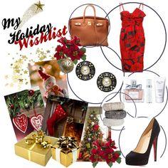 My holiday Christmas list!! Follow me! #fashion