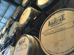 St. Augustine Distillery is the best place to visit in the city