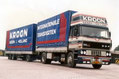 DAF 3600 with topsleeper by Kroon from Assen.