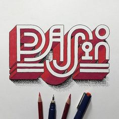 can you believe that this #magnificent #lettering was done by hand not a graphic #design program? by @memovigil #handmadefont