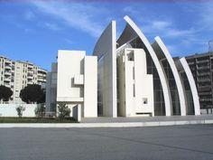 Iglesia del 2000_Richard Meier_Roma (Italia)_muy interesante volumetria...