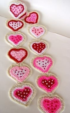 Red+Heart+Crochet+Scarf+Patterns | Cookie Heart Scarf Crochet Pattern PDF by dianelangan on Etsy