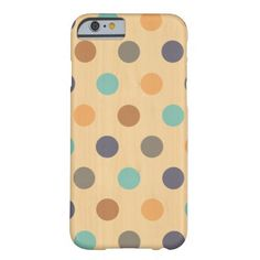 Woody polka dots iPhone 6 case Barely There