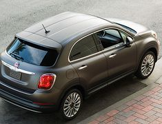 FIAT 500X - AWD Crossover from FIAT - FIAT Mobile and my next vehicle. A true tribute to Max.
