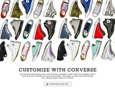 55f8d3c3d80faf Deal  Design Your Own Converse Sneaker - Your Custom Design Ships within  2-3 Weeks!