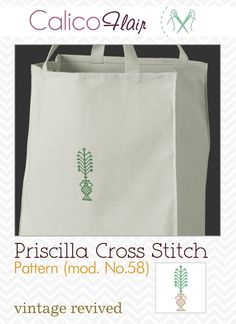 Priscilla Cross Stitch Pattern 58