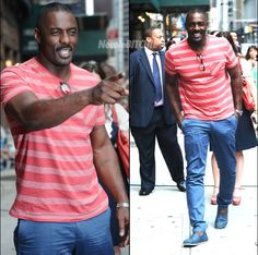 Idris Elba Wife | Idris Elba Spotted Looking Handsome In New York, Talks Nelson Mandela ...