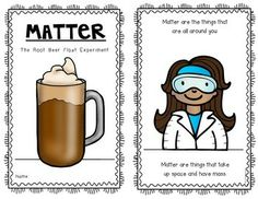 What's the matter? Root beer float experiment emergent reader! Perfect for Kindergarten and First Grade. Properties of Matter. $