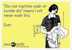 That is one awesome laundry joke!  And that definitely happens at my house!