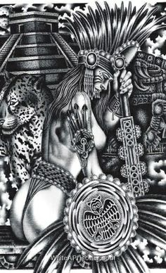 mexican aztec art aztec art drawings page 7 tats pinterest