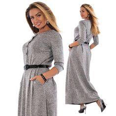 Ladies Long Length Sleeve Maxi Dress Plus Sizes Available – ooMAXI Big Size  Dress 6ff72137c6bb