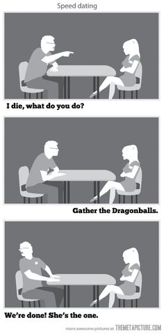 How geeks speed date…