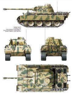 Panther Ausf. D, 52nd Panzer Battalion, Kursk, 1943