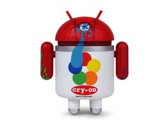 Android Mini Series 3 Cry-On by MAD Figure Height: Medium: Vinyl Edition: Limited Andrew Bell, Android Series, Vinyl Figures, Action Figures, Upcoming Series, Vinyl Toys, Designer Toys, Toy Store, Android