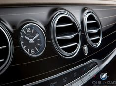 Mercedes-Maybach S-Class: Surprisingly, Its IWC Dashboard Clock Is Its Least Luxurious Element