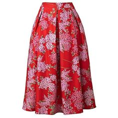 Lorraine Kelly Floral Print Full Skirt (€39) ❤ liked on Polyvore featuring skirts, netted skirt, full floral skirt, floral print skirt, net skirt and floral skirts