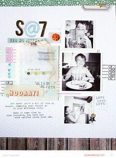 #papercraft #scrapbook #layout. s@7 by gluestickgirl at @studio_calico