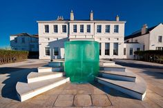 Seaham Hall Hotel, County Durham  If that Mediterranean fountain doesn't impress your guests on entrance, we don't know what will. Out on the North East coast, Seaham Hall Hotel packs all the style of a boutique London hotel with its deep purple velvet and glittering gold chandeliers.