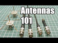Antennas 101 / How does an antenna work - YouTube
