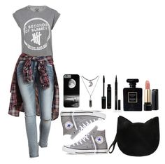 ~If You Don;t Know - 5SOS~ by tiffanymejia on Polyvore featuring Charlotte Russe, Converse, Forever 21, Elizabeth Arden, Lancôme and Chanel