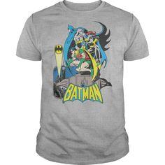 #Batman #DC #Heroic #Trio  | YeahTshirt.com