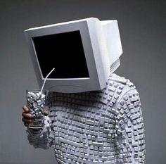 hombre computadora - Google Search Web Design, Geek Humor, Merino Wool Blanket, Funny Pictures, Geek Stuff, Ruffle Blouse, Instagram Posts, Monitor, Magic
