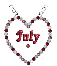 Fubar Signs Animations - Signs codes Graphics for Myspace Animated Heart Gif, Welcome July, Love Heart Gif, Hello July, Month Of July, Happy July, Glitter Party, Glitter Graphics, Birth Month